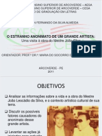 O ESTRANHO ANONIMATO DE UM GRANDE ARTISTA UMA VISITA À OBRA DE JOÃO SILVA