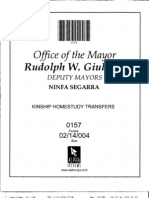 Box 02-14-004 Folder 0157 (HRA Requests Information Re Kinship Transfers Made in 1990)