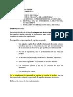 Folosofia de La Historia 2003