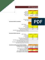 EPC Dimensioning Tool