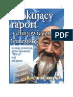 Szokujacy Raport o Dlugowiecznosci Chinczykow