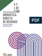 Valorización Energética de Residuos - IDAE -
