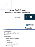 Broad SAP Functionality SAPBIZ