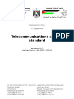 PCP Telecommunications Cabling Standard -Updated Version