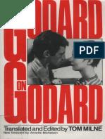 Godard Jean-Luc Godard on Godard