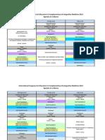 Daily ICE-CIM Program Schedule