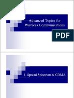 Advanced Topics for Wireless Communications