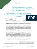 La terapia familiar sistémica en el trastorno mental grave