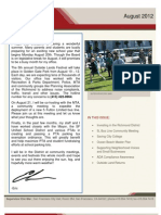 Supervisor Eric Mar August 2012 Newsletter