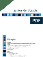 Elementos de Scripts