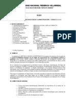 Silabo Metodologia de La Investigacion Universidad Nacional Federico Villlarreal 2012