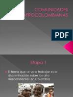 COMUNIDADES AFROCOLOMBIANAS