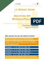 Anleitung Mobile Service Safari mTourismuscamp 2011