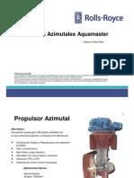 Propulsores Azimutales Aquamaster