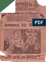 Arendt, Paul - Wo Bleibt Der 2. Mann (Um 1931, 25 S., Scan, Fraktur)