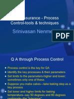 Quality  Assurance ---Process Control