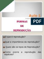 reprodução dos seres vivos - aulas p. 3ºBim