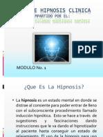 Curso de Hipnosis Clinica Modulo No. 1