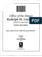 Box 02-14-004 Folder 0164 (Critical Foster Care Audit Issued by State Comptroller)