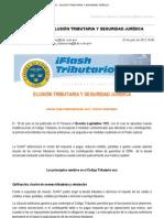Correo de BDO Perú - FLASH TRIBUTARIO - ELUSIÓN TRIBUTARIA Y SEGURIDAD JURÍDICA