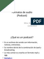 Formatos Audio