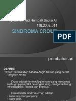 Persentasi Kasus Sindroma Croup
