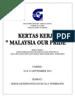 Kertas Keje Malaysia Our Pride