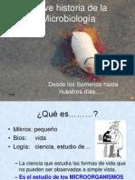 Historia de La Microbiología