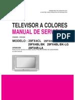 Tv Lg 29fx4bl