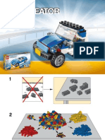 LEGO Jeep Instructions