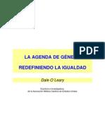 Dale O Leary La Agenda de Genero