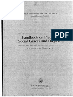 Handbook on Protocol and Social Etiquette