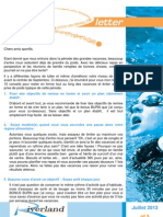 Newsletter Riverland - Juillet 2012 - N'5
