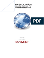 Introduction To Multicast Multimedia Delivery For Internet Broadcasters