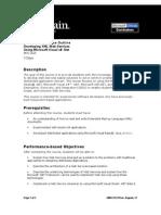 2524 Developing XML Web Services Using MS Visual C Sharp