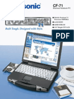Panasonic Toughbook CF 71 brochure