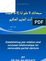 Establishing Jaw Relation