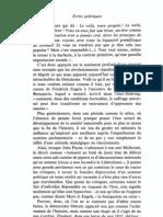 Heidegger M. - Ecrits Politiques