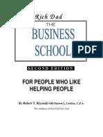 The Business School by Robert T. Kiyosaki