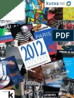2012 Catálogo Ediciones kutxa