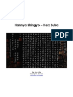 Hannya Shingyo - Herz Sutra