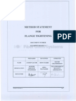 Method Statement for Falnge Tightening0001