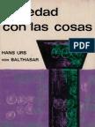 Von Balthasar, Hans Urs - Seriedad Con Las Cosas