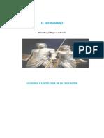 Monografia El Ser Huamano Hombre y Mujer