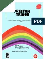 Preston Tringe Festival Programme 2012