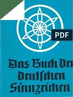 Blachetta, Walther - Das Buch Der Deutschen Sinnzeichen (1941, 127 S., Scan, Fraktur)