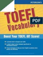 Peterson s Master TOEFL Vocabulary