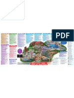 Disney California Adventure Park Map