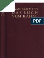 Brafmann, Jacob - Das Buch Vom Kahal - 2. Band (1928, 401 S., Scan, Fraktur)