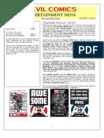 Devil Comics Entertainment August 2012